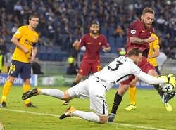 Champions: Roma 0 - Atletico Madrid 0