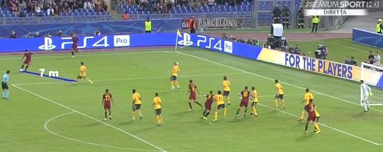 Roma-Atletico: ci manca un rigore