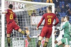 Champions League, Roma-Qarabag: il gol di Perotti ci fa passare il girone da primi!