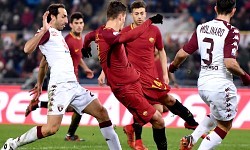 Coppa Italia, Roma-Torino: primo gol (purtroppo inutile) di Schick con la Roma
