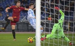 Roma-Spal: Dzeko torna al gol dopo un lungo digiuno