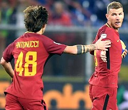 Samp-Roma: l'esordiente Antonucci crossa e Dzeko pareggia una partita maledettamente indirizzata da Orsato