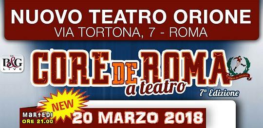 CdR a teatro 2018