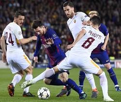 Champions, Barcellona-Roma: risultato bugiardo e mancano 2 rigori all'appello per la Roma