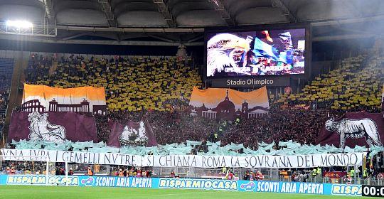 Lazio-Roma: scenografia