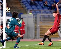 Roma-Genoa: Under segna il primo gol