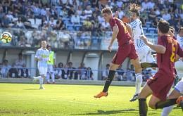 Spal-Roma: 1° gol romanista di Schick in campionato