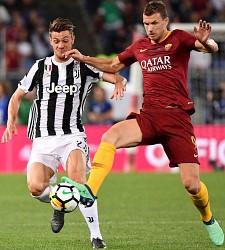 Roma-Juventus: Dzeko