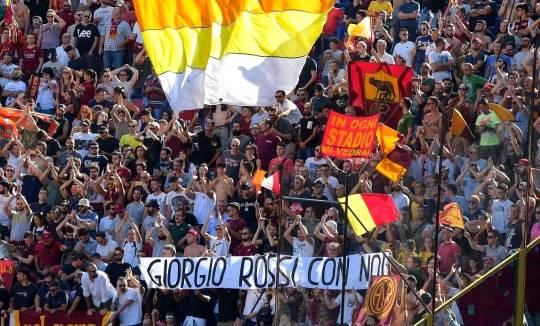 Bologna-Roma: i tifosi ricordano Giorgio Rossi