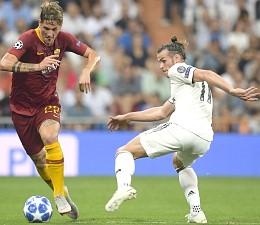 Champions League, Real-Roma: esordio in prima squadra per Zaniolo