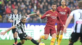 Udinese-Roma: Udinese miracolata da una pessima Roma