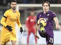 Fiorentina-Roma: super Chiesa vs salma Pastore