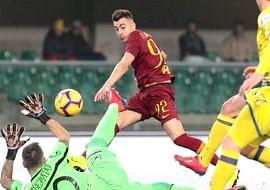 Chievo-Roma: il gol di El Shaarawy
