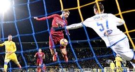 Frosinone-Roma: il gol al 95' di Dzeko