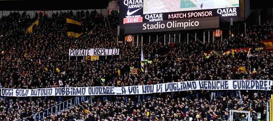 La protesta della Curva Sud dopo lo scempio sportivo di Firenze