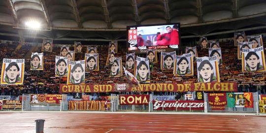 Roma-Milan: scenografia per Antonio De Falchi nel 30° anniversario dell'assassinio