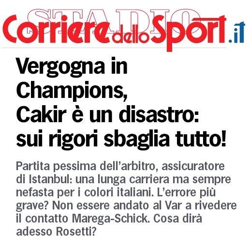 Champions, Porto-Roma: corriere